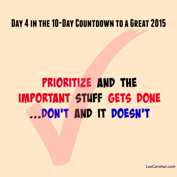 Pick Three, Only Three: Day 4 in the 10-Day Countdown to 2015