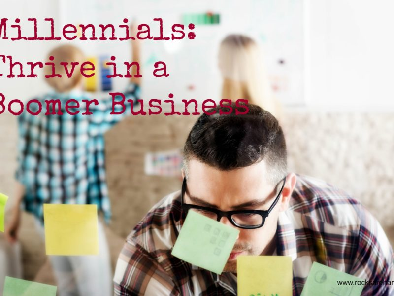 Millennials: 5 Ways To Thrive in a Xer or Boomer Business