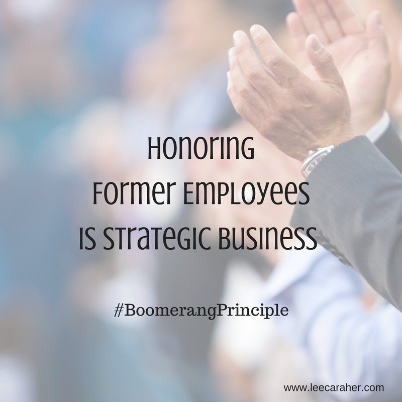 Honoring Past Employees Helps Build Strong Business