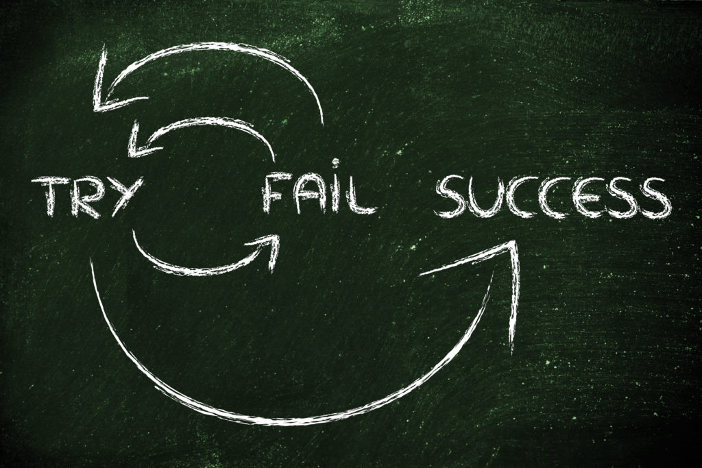 Learning from mistakes are key to success