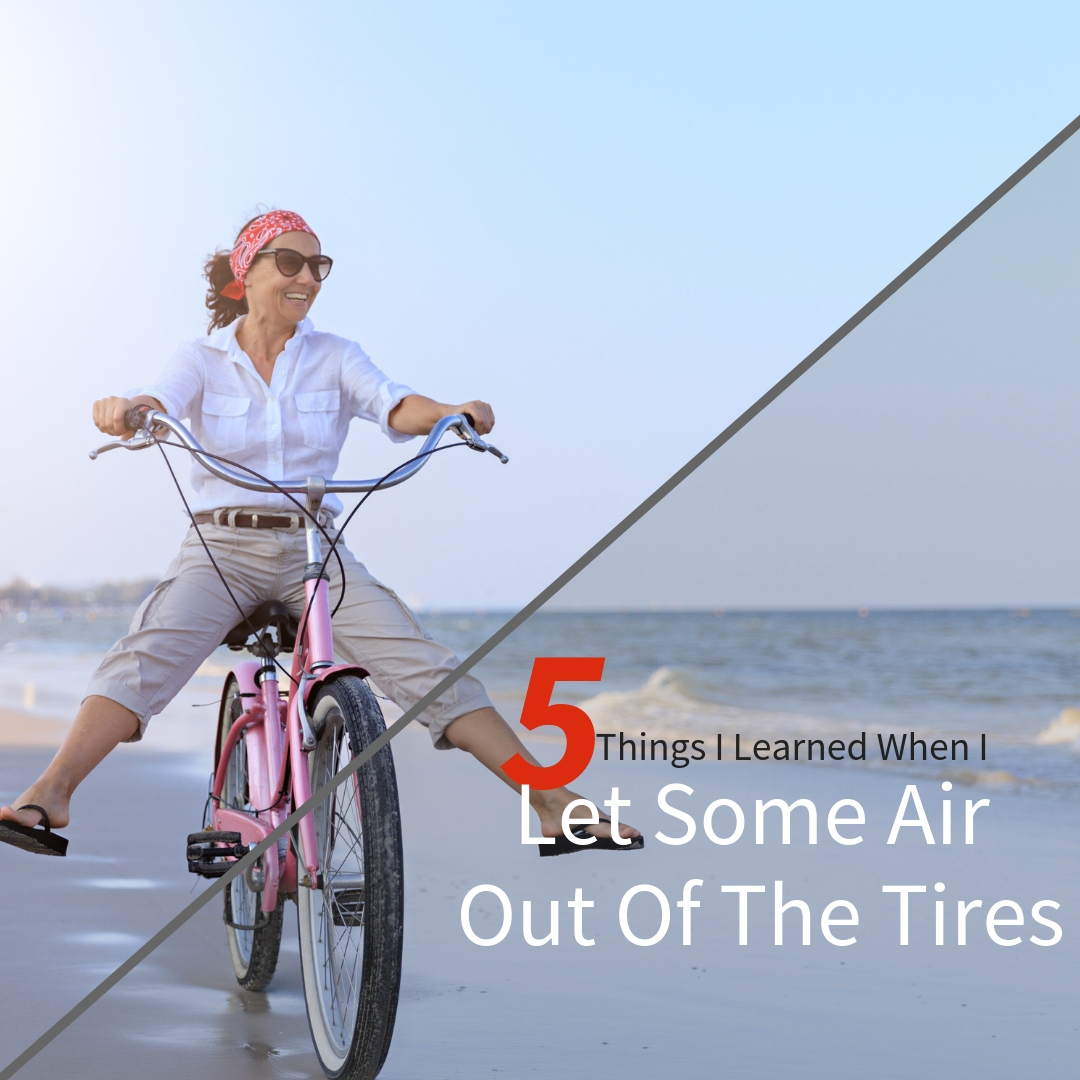 Create White Space Let Some Air Out Of Your Tires Lee Caraher